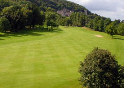 Abergele Golf Club 1st fairway