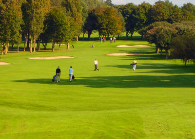 Abergele Golf Club 4th fairway