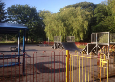 Abergele Public Park skate park