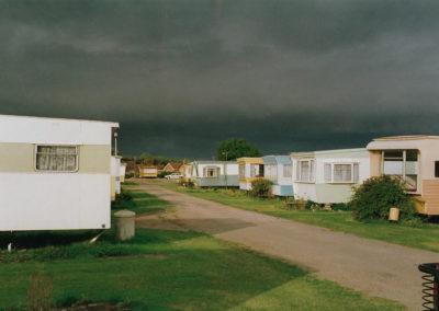 modern caravans