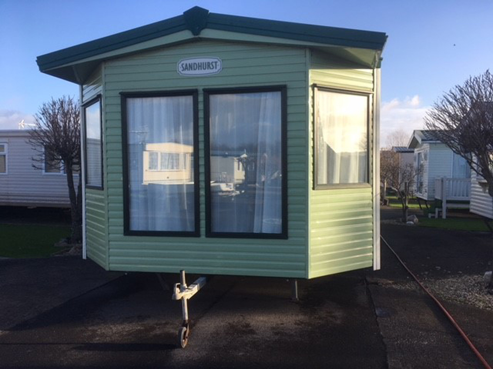 Static caravans for sale on small sites in North Wales